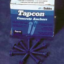 Tapcon Concrete Anchors (100 ct. per box)