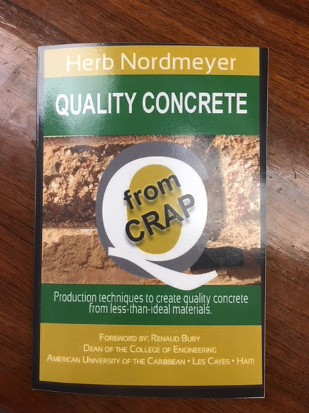 Quality Concrete from Crap