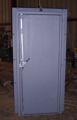 Tornado Tamer Safe Door
