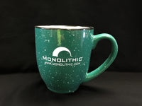 Speckled Green Coffee Cup