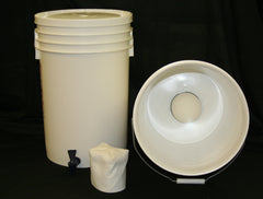 Just Water, Complete Bucket System -- Filters out 99.999% of LEAD