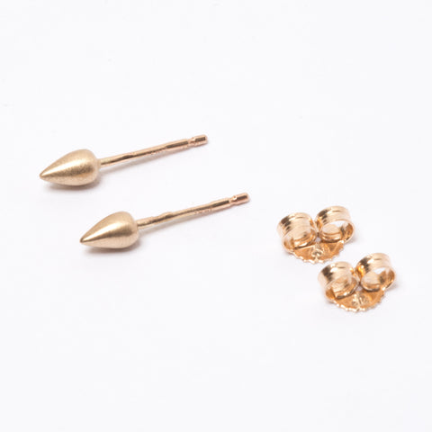 Gold Spike Studs
