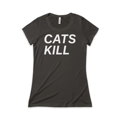 CATS KILL – WOMEN'S SHORT SLEEVE TSHIRT (Front)