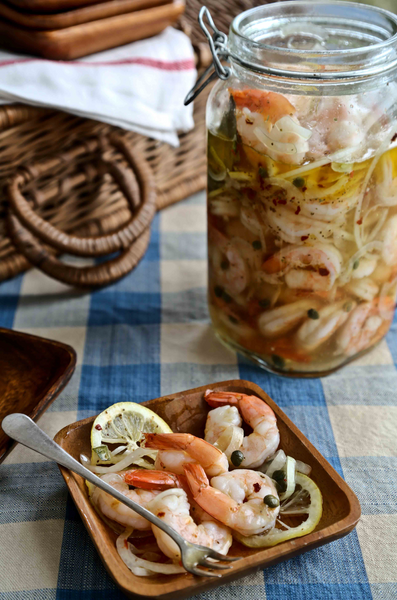 Carrie Morey's Pickled Shrimp