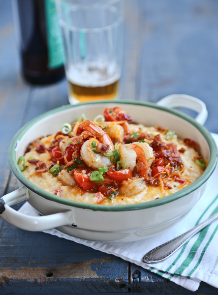 Callie's Hot Little Biscuit Pimento Cheese Shrimp and Grits