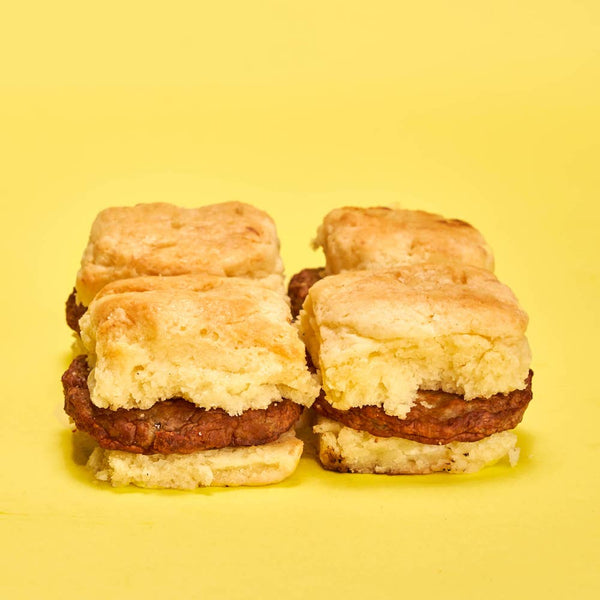 Back to School Sausage Biscuits for Breakfast