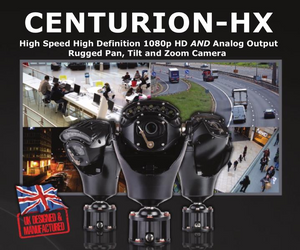 360 CENTURION HX Hybrid HD Rugged PTZ Camera