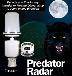 360 PREDATOR RADAR Auto-Tracking PTZ Camera