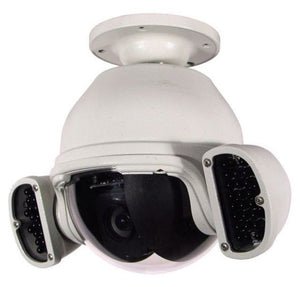 360 Vision BHD Rugged Outdoor Pan Tilt Zoom Dome Camera with IR