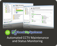 CheckMyCCTV Cloud Hosted Automated CCTV System Status Monitoring Service for Resellers