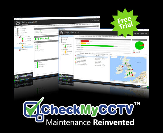 CheckMyCCTV Automated CCTV System Status Monitoring Cloud Service - FREE TRIAL