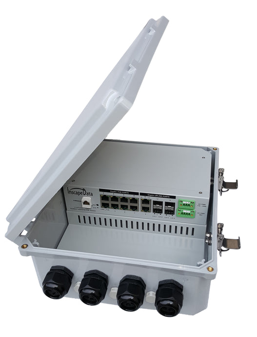 LPS3000-T1 Series All Weather Multi-Port Managed Gigabit PoE Switch