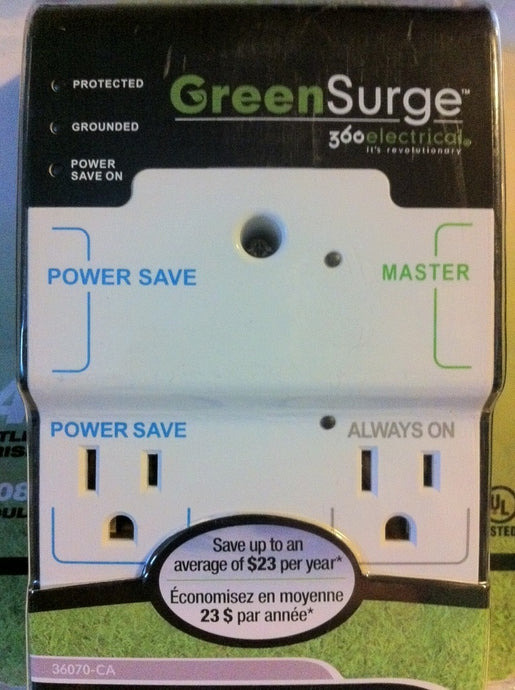 36070-CA 4-Outlet GreenSurge Protector (360electrical)