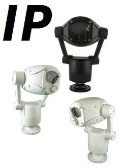 360 HD-30 IP PREDATOR High Speed Rugged  PTZ Camera (B-Stock #B6801)
