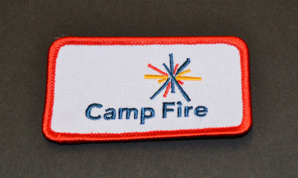 Camp Fire Identification Emblem