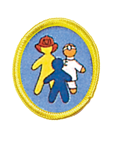 Community Helpers Emblem