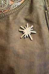 Spark Mark Lapel Pin with Magnetic Backing