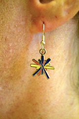 Dangle Logo Earrings