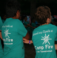 Teal Camp Tannadoonah T-Shirt
