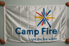 Camp Fire Flag