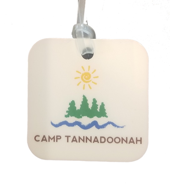 Camp Tannadoonah Luggage Tag