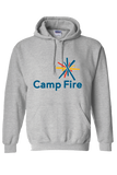 Camp Fire Hoodie - Heather Gray