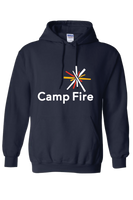 Camp Fire Hoodie - Navy Blue