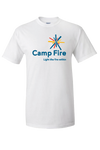 Camp Fire Logo T-Shirt - White