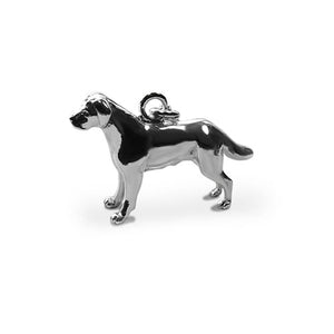 Labrador clip on dog charm