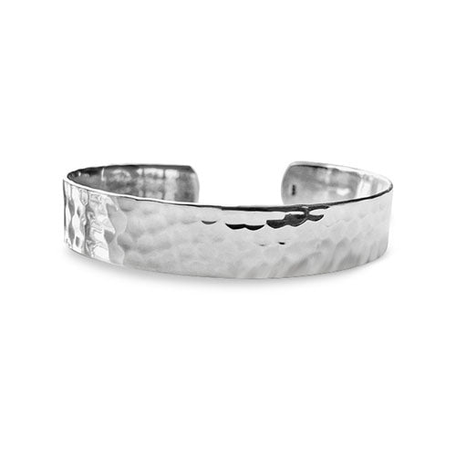 Lorena Plain Solid Sterling Silver Bangle