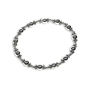 Lorena sterling silver stacking bracelets