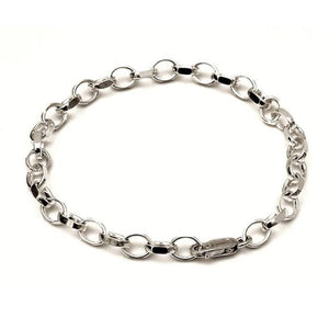 Sterling silver bracelet perfect for charms for clip on charms