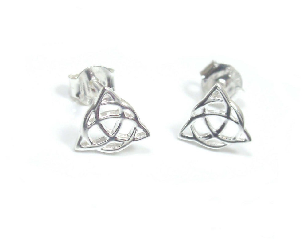 Sterling silver celtic knot earrings by Lorena Silver Jewellery Silver earrings
