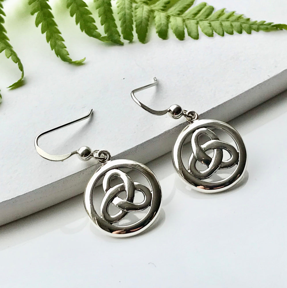 Celtic Circular Earrings