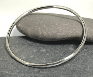 Sterling Silver Handmade Bangle