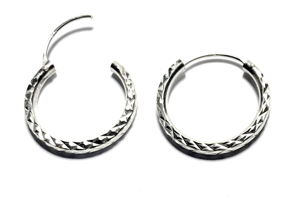 Sterling Silver Every Day Hoops