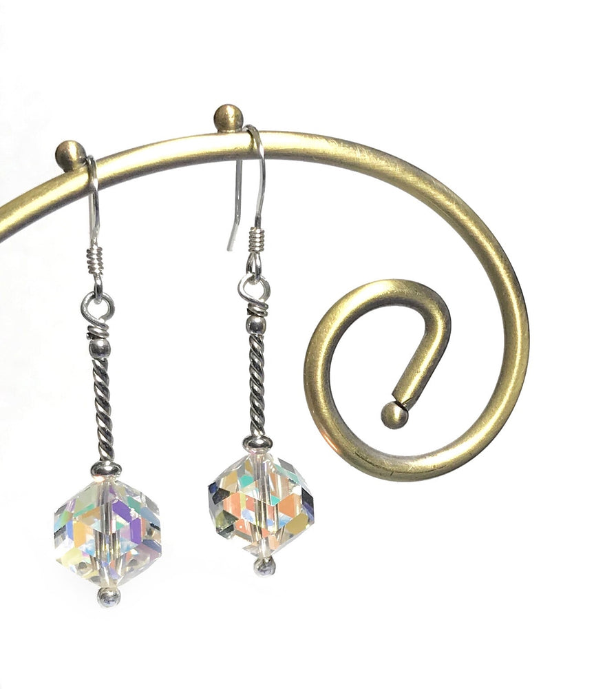 Swarovski Aurora Borealis Drop Earrings