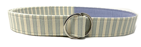 Blue Striped Belt