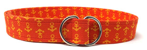 Red and Orange Anchor Belt