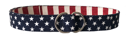 american flag belt by oliver green
