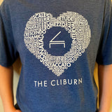 Cliburn Heart T-Shirt