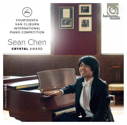 Sean Chen, crystal award CD (2013)
