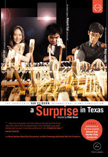 Thirteenth Cliburn Competition (2009) Documentary DVD:  A Surprise in Texas