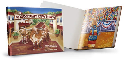 Goodnight Cowtown Book, Cliburn Insert