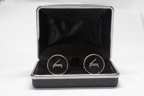 Cliburn Cuff Links, Stainless Steel