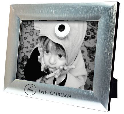 Cliburn 4x6 Picture Frame, Brushed Silver