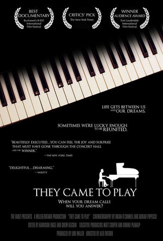 Fifth Amateur Competition (2007) Documentary DVD: They Came to Play
