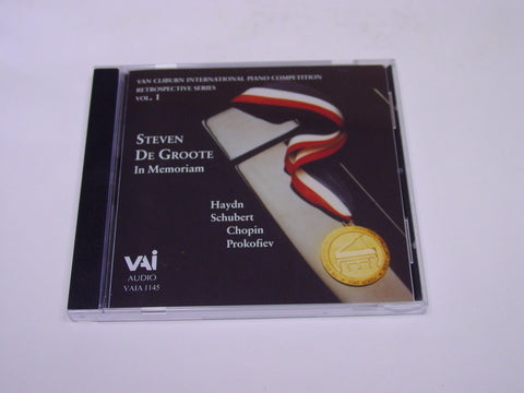 Retrospective Vol. 1, Steven De Groote in Memoriam - CD