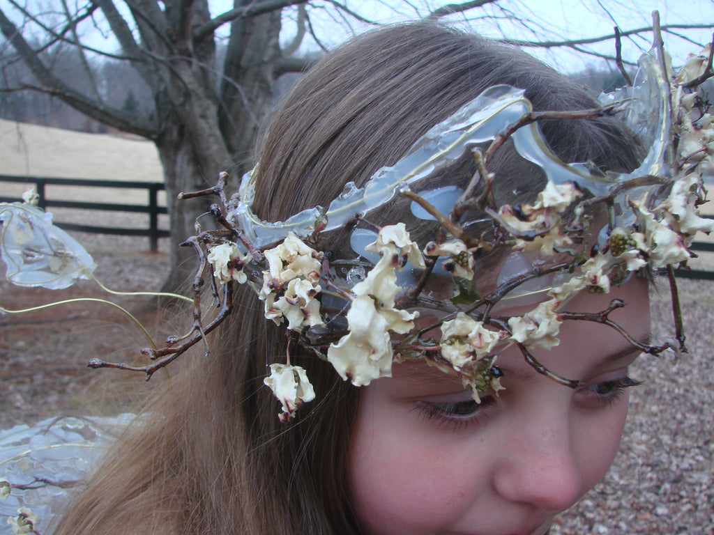 Dogwood Branch and Blossom Crown