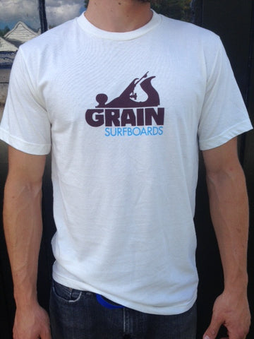 50% Organic Cotton/ 50% Recycled PET Grain Logo T - Men's